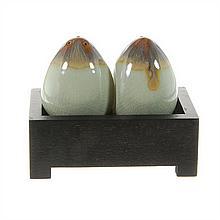 Ceramic Egg Salt & Pepper Set