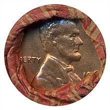1963D Cent UnOpened Original Bank Roll 50 GEMS