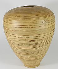 New Spun Bamboo Vase
