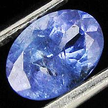 0.87ct Top Color Tanzanite Oval