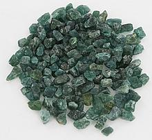 202ct Green Apatite Rough Parcel