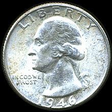 1946D Washington 25c MS63