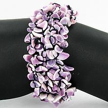 Stretch Shell/MOP Bracelet