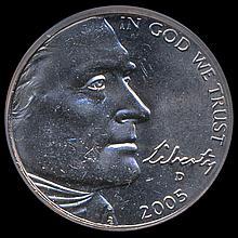 2005D Buffalo 5c Graded MS67