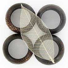 Sugarpalm Wood Napkin Rings