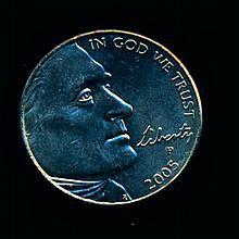 2005P Jefferson Bison 5c MS67 Hi Book Value