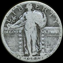 1926D Standing Liberty Quarter Circulated