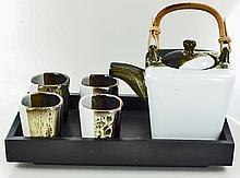 New Ceramic Tea Set 6 Pieces