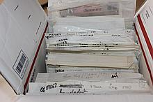 BOX LOT HOARD OF FOREIGN CURRENCY 2076 PCS $9224 BOOK VALUE