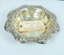 Gorham Sterling Silver Bowl Circa 1900.