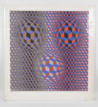 VICTOR VASARELY ( HUNGARIAN / FRENCH1908 -1997)