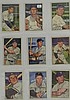 1952 Bowman Baseball 9 Card Lot w. Early Wynn