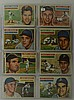 1956 Topps 22 Card Lot w. Robin Roberts