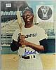 Hank Aaron autographed 8