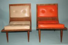 """TWO CARTER BROTHERS """"SCOOP"""" CHAIRS:"""