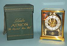 JAEGER LE COULTRE ATMOS MANTLE CLOCK/ORIGINAL CASE: