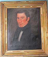 E.E. FINCH PORTRAIT OF A GENTLEMAN: