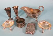 ASSEMBLED STERLING SILVER LOT: