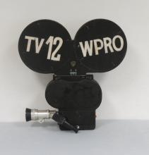 TV 12/WRPO VINTAGES TELEVISION CAMERA: