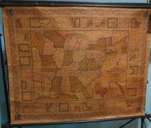 MITCHELL'S NATIONAL MAP OF THE AMERICAN REPUBLIC or UNITED STATES OF NORTH AMERICA: