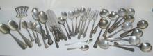 36 PIECES OF STERLING FLATWARE