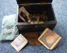 A quantity of coins. Est. ?20 - ?30.