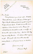 Sir Arthur Conan Doyle letters regarding his petition for clemency for Sir Roger Casement (3)