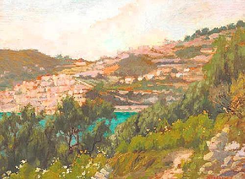 Alexandre Tielens (Belgian, 1868-1959) CAP FERRAT,