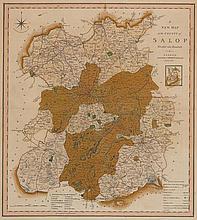 1614: John Speed map of Shropshire (6)