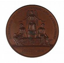 1872: Dublin Exhibition of Arts, Industries and Manufactures Juror's Medal