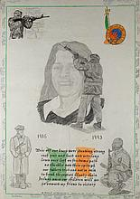 1993: Crumlin Road Jail Republican prisoner art