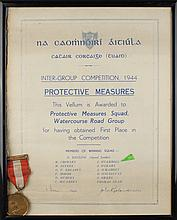 1939-85: Attributed Cork Irish Red Cross medal group including 40 year service medal