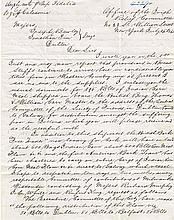 1847 (14 July) Office of the Irish Relief Committee famine letter