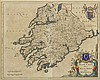 17th Century: Map of Munster by Johannis Blaeu