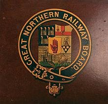20th Century: Large collection of Irish railway ephemera including signs