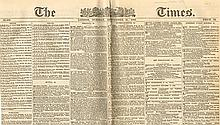 1888 (11 September) Whitechapel Murders issue of The Times of London