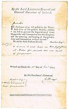 1799 (24 January) Ardee, Louth gunpowder license