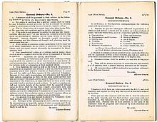 1920 (10 July) IRA War of Independence General Orders booklet