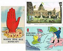 1910-1921: Collection of Unionist ephemera including postcards