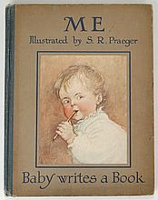 Me (Baby Writes A Book) illustrated by S. R. Praeger