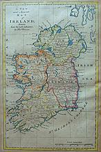 circa 1750: Thomas Bowen Map of Ireland