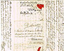 1760 (10 July) Irish Legion letter from Lt. Richard Haly to Chevalier de Warren a the Camp near Corbach