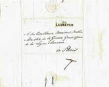 1805 (2 March) Irish Legion fighting for France - a letter from Captain Thomas Markey