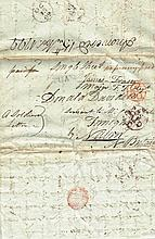 1798-99 Rebellion: Letter from June Fraser daughter of Major James Fraser of the Fraser Fencibles