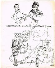 1968-69: Collection of Spike Milligan sketches (3)