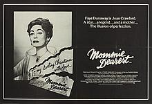 1981: Joan Crawford 'Mommie Dearest' movie poster