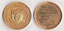 1927-30 Ambassador William Fay collection of gold medals