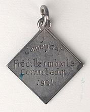 1921: Ballykinlar Internment Camp Chess Medal
