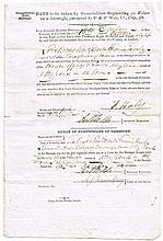 1838 Irish Local Election Voters Registers Oaths