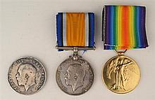 1914-1918: First World War collection including Royal Inniskilling Fusiliers and Royal Irish Rifles medals